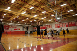 Complete lighting retrofit at Cromwell High School